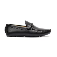 Mocassino con fibbia (Black)